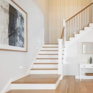 Stair Case in North Facing House