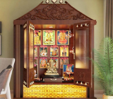 Puja room in north facing house